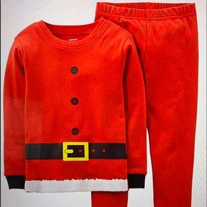 Cárter's unisex Santa suit pajamas pjs pick sz
